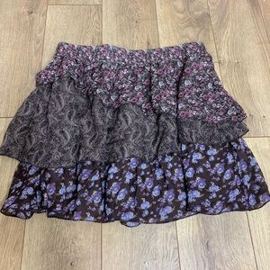 Maurices Floral Skirt